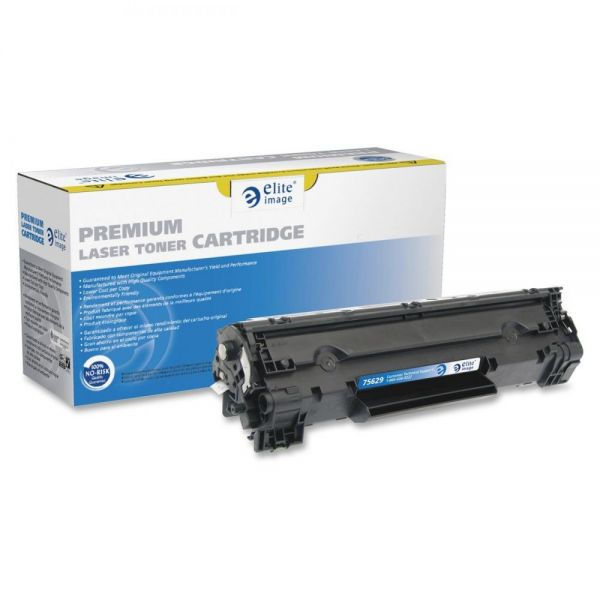 Elite Image Remanufactured HP CE278A Black Toner Cartridge