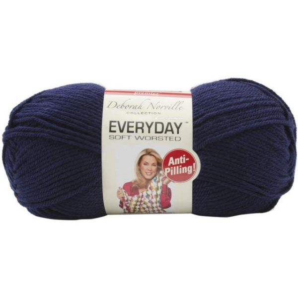 Deborah Norville Collection Everyday Yarn - Navy