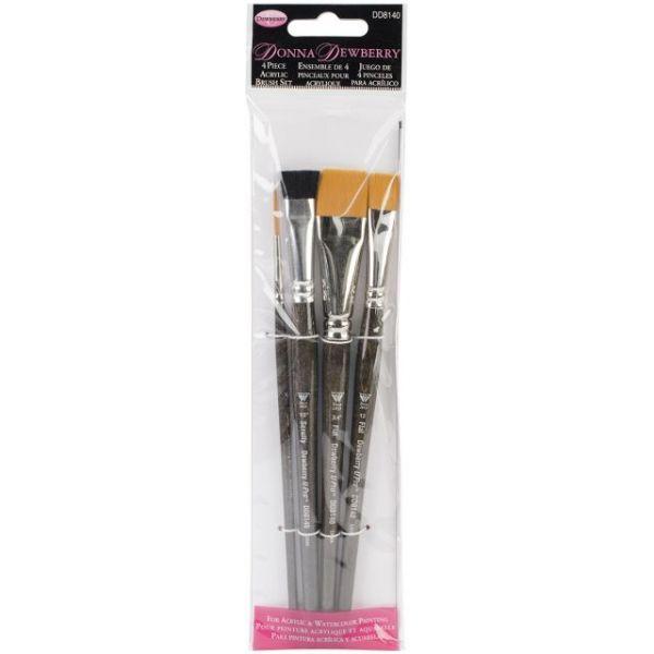 Donna Dewberry Acrylic Brush Set