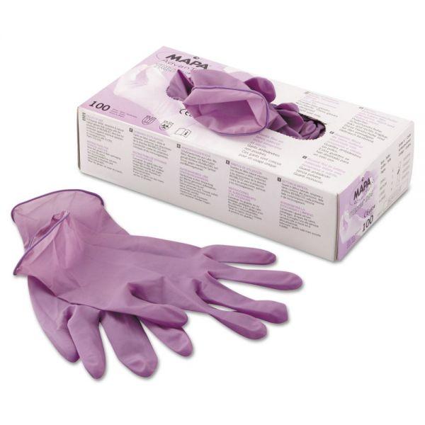 MAPA TRIlites 994 Gloves, Purple, Medium, 100/Box