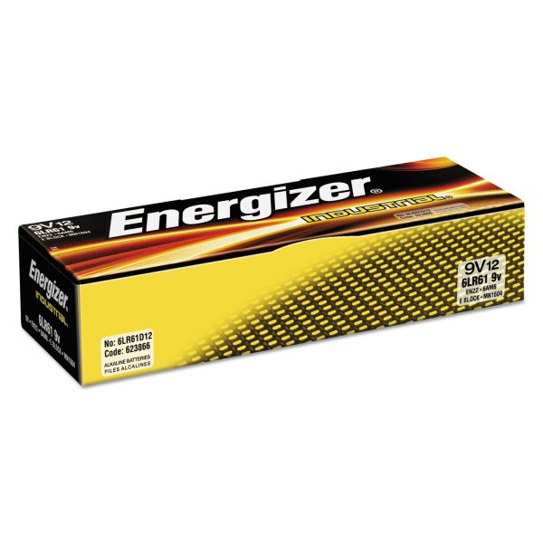 Energizer Industrial 9V Batteries