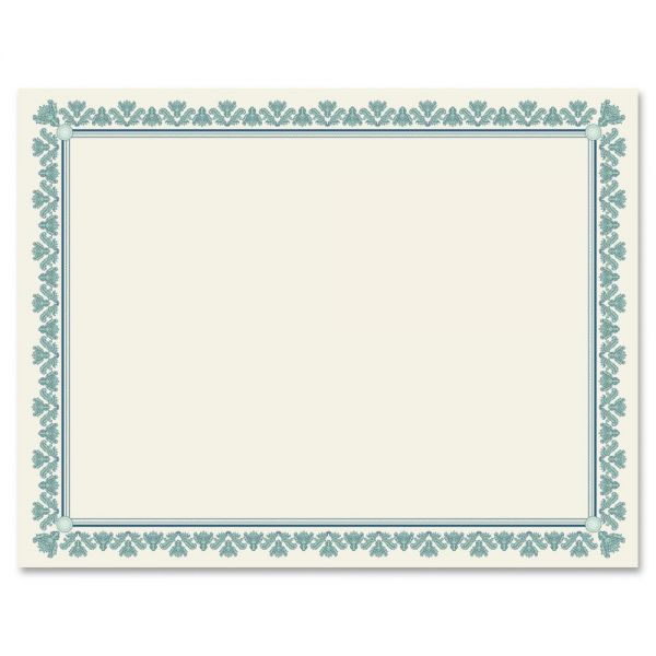 Geographics Fleur Border Blank Certificates