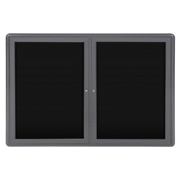 Ghent 2-door Ovation Enclosed Letterboard