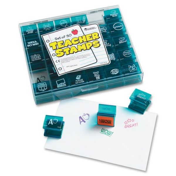 Learning Resources Jumbo Teacher Stamps Set