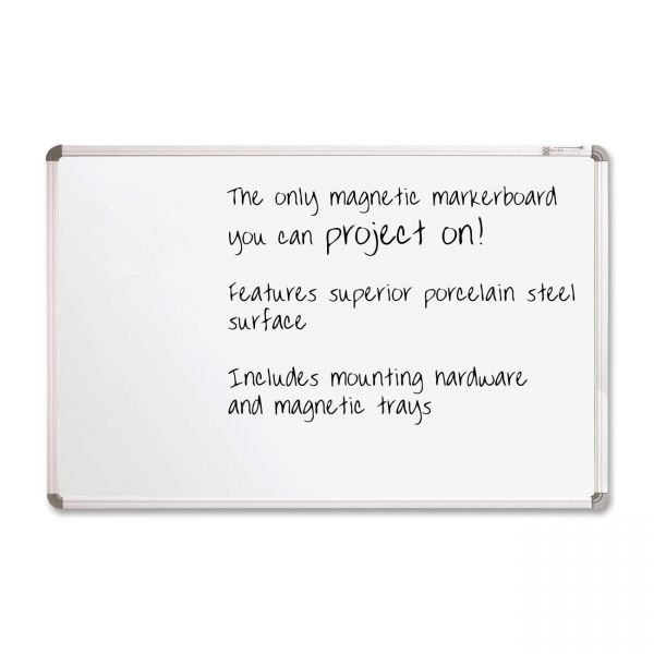 Projection Plus 8' x 4' Magnetic Dry Erase Board