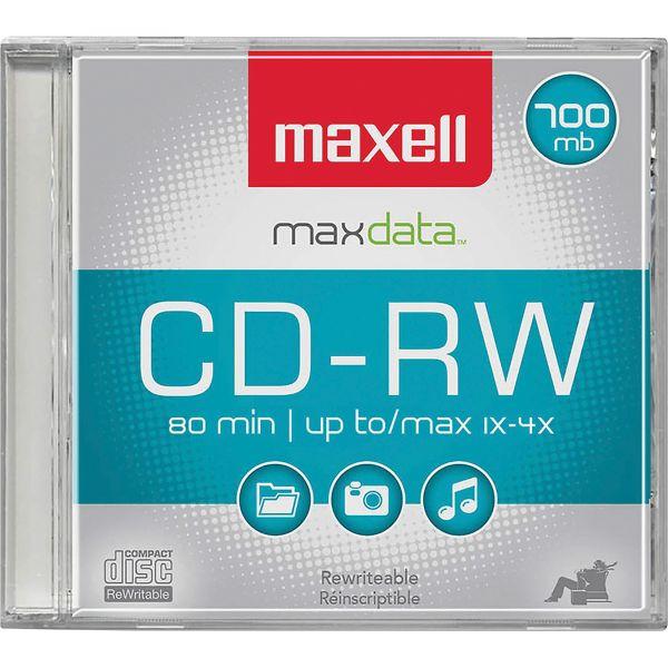 Maxell Rewritable CD Media