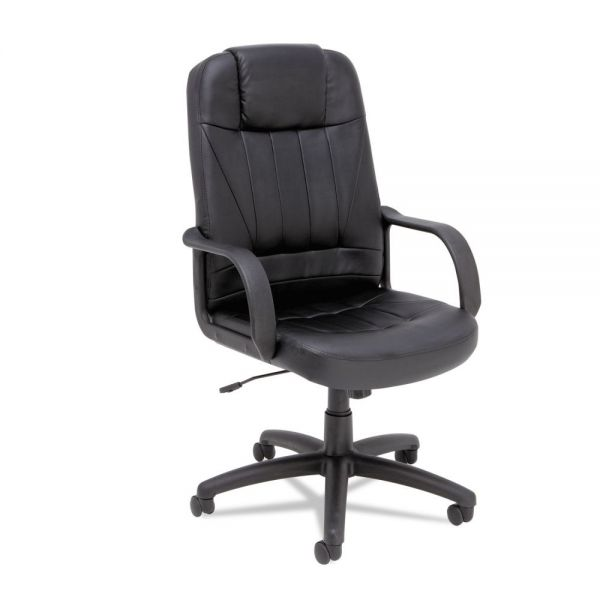 Alera Sparis Executive High Back Swivel/Tilt Leather Office Chair