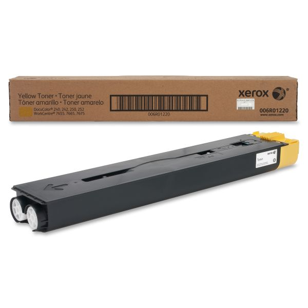 Xerox 006R01220 Yellow Toner Cartridge