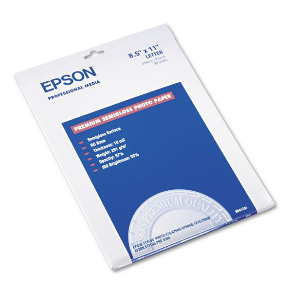 Epson Semi-Gloss Photo Paper