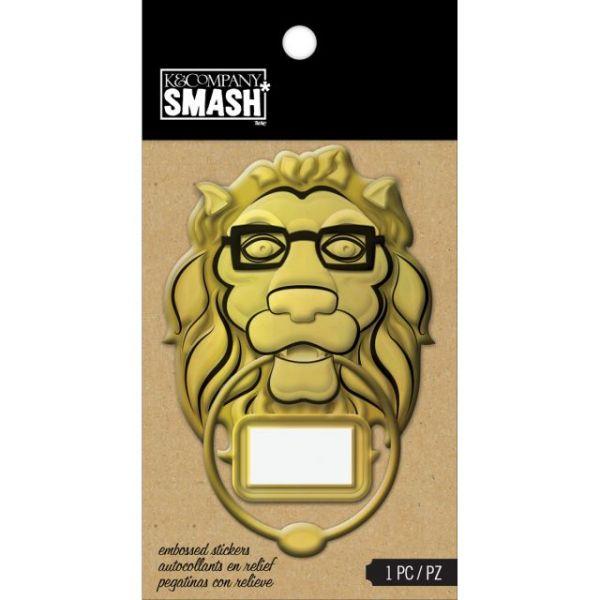SMASH Embossed Sticker 1/Pkg