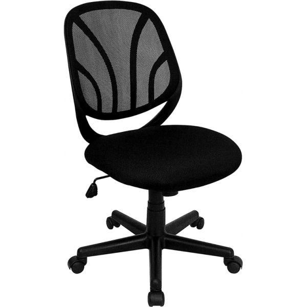 Flash Furniture Y-GO Chair Mid-Back Mesh Task Chair