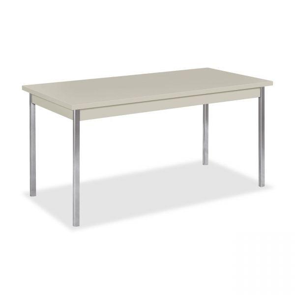 HON High-pressure Laminate Utility Table