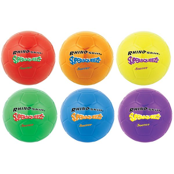 Champion Sports Super Squeeze Soccer Ball Set