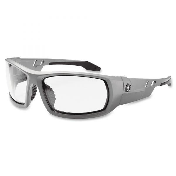 Ergodyne Fog-Off Clr Lens/Gray Frm Safety Glasses