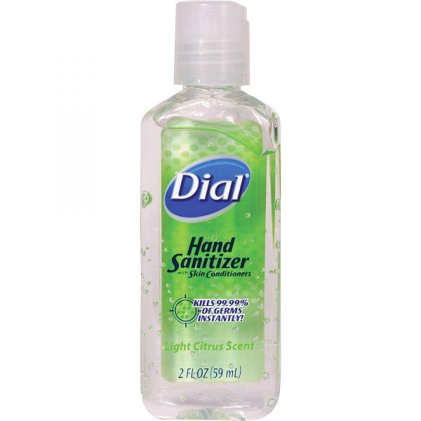 Dial Travel Size Scented Antibacterial Gel Sanitizer