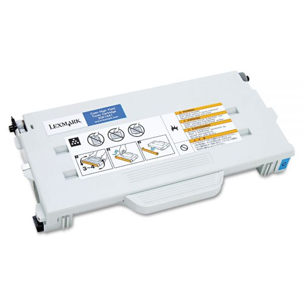 Lexmark 20K1441 Cyan High Yield Toner Cartridge