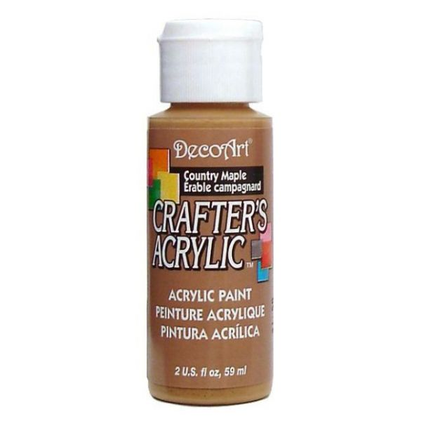 Deco Art Crafter's Acrylic Country Maple Acrylic Paint