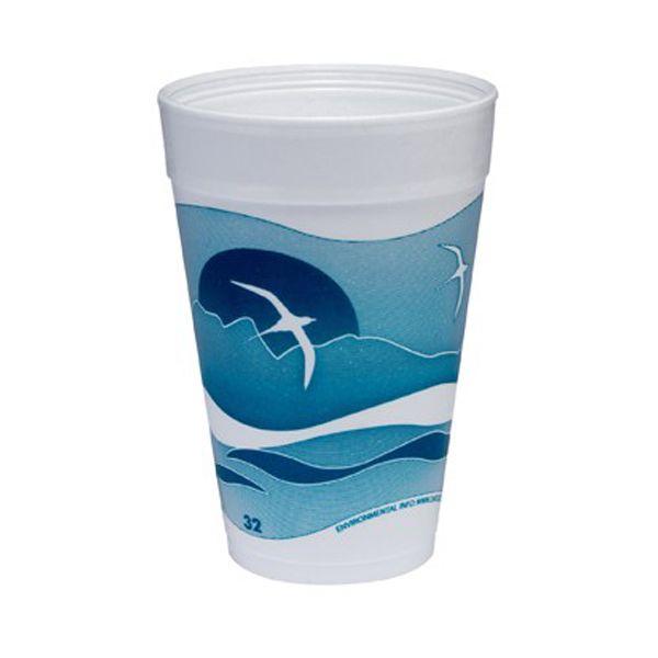 Dart Horizon 32 oz Foam Cups