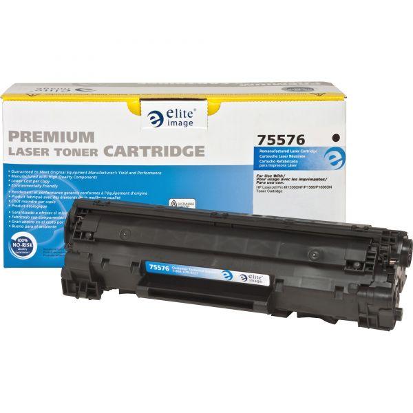 Elite Image Remanufactured HP 78A (CE278A) Toner Cartridge
