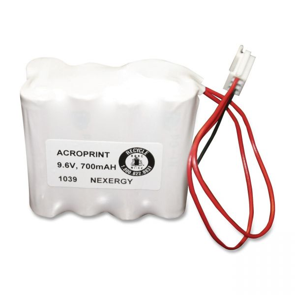 Acroprint Time Recorder Device Battery