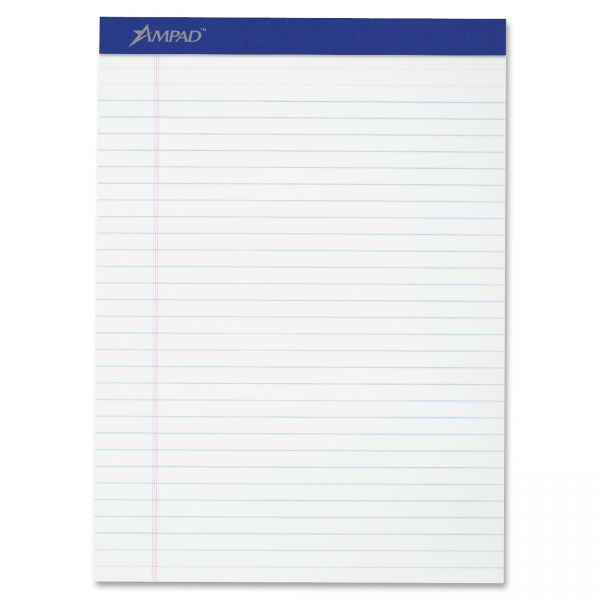 Evidence Letter-Size White Legal Pads
