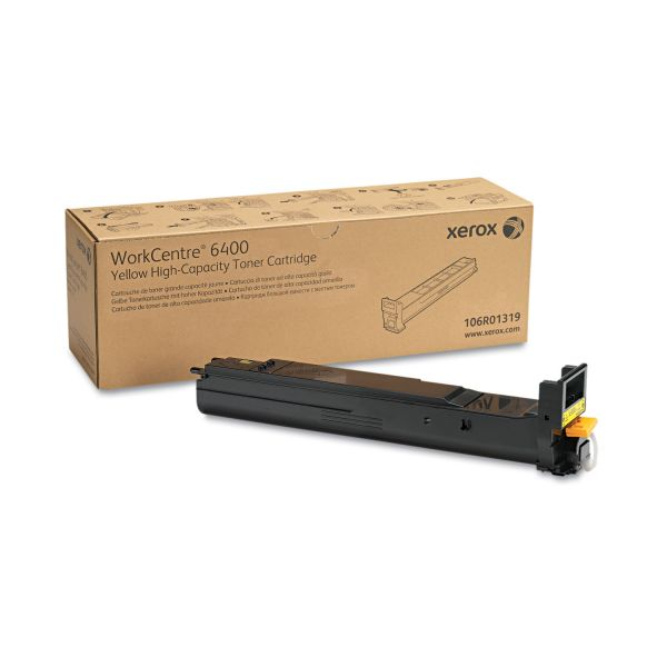 Xerox 106R01319 Yellow High Yield Toner Cartridge