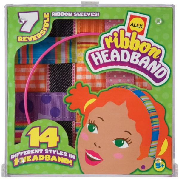 ALEX Toys Do-It-Yourself Ribbon Headband Kit