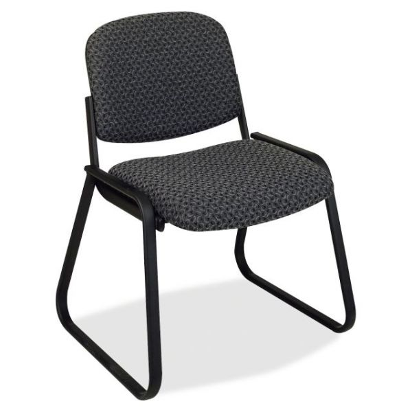 Office Star V4420 Deluxe Sled Base Armless Chair
