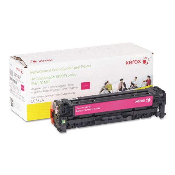 Xerox 006R01487 Replacement Toner for CC533A (304A), 2800 Page Yield, Magenta