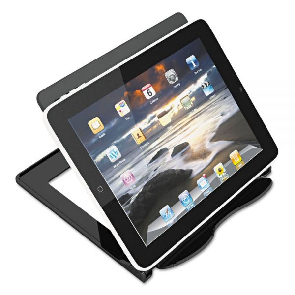 Universal eReader Stand, 1-Compartment, 7 1/8 x 7 x 5 3/4, Black