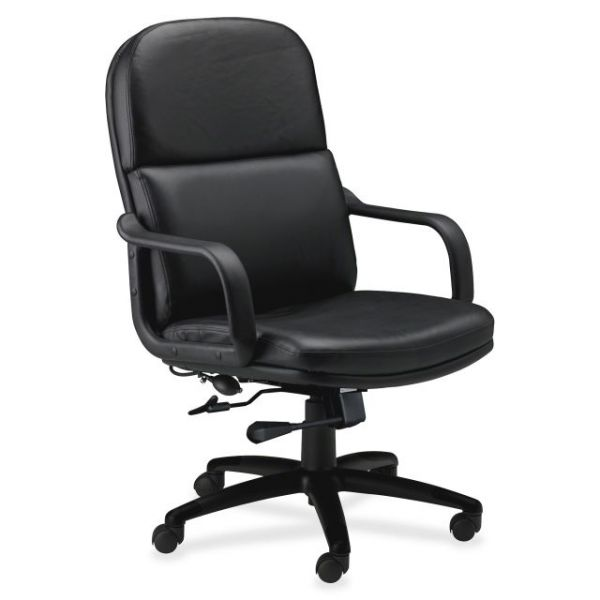 Tiffany Industries Big & Tall Executive Leather Office Chair with Loop Arms