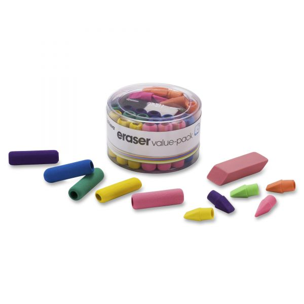 Officemate Eraser/Pencil Grip Assortment Pack