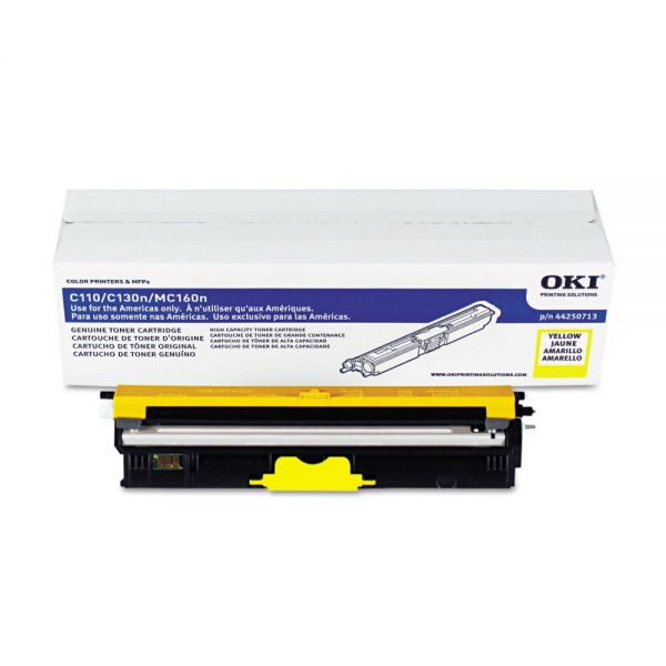 Oki 44250713 Yellow Toner Cartridge