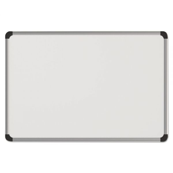 "Universal 36"" x 24"" Magnetic Painted Steel Dry Erase Whiteboard"