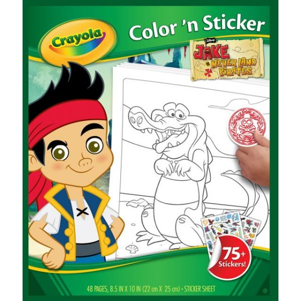 Color 'N Sticker Book