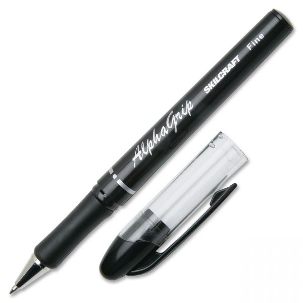 SKILCRAFT Cushion Grip Ballpoint Pens