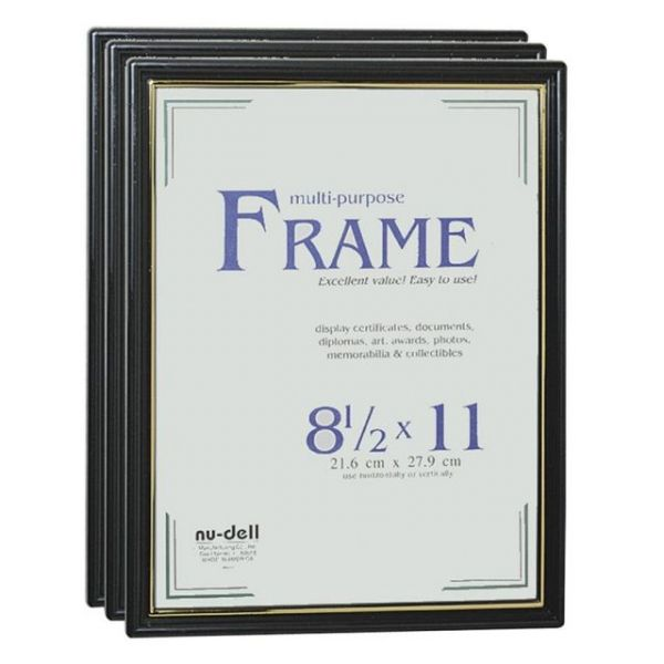 Nu-Dell Easy Slide-In Picture/Certificate Frames