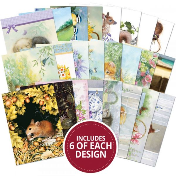 Hunkydory A6 Paper Pad 144/Pkg