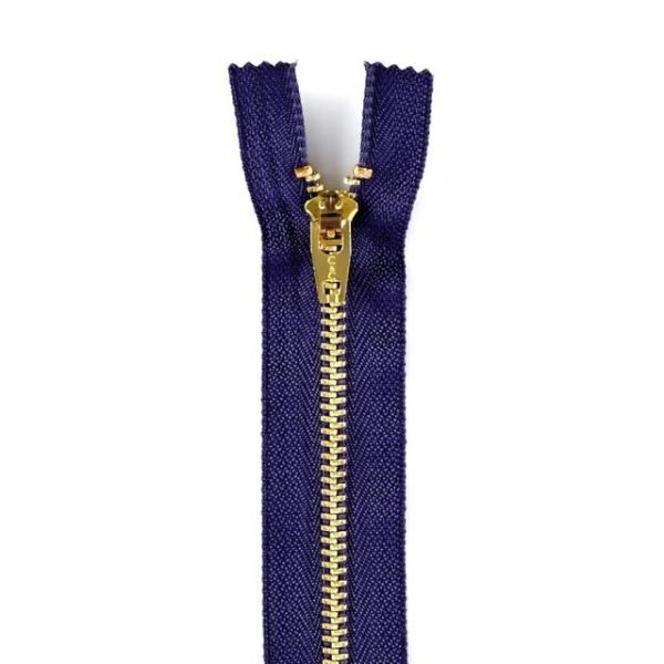 Brass Jean Metal Zipper
