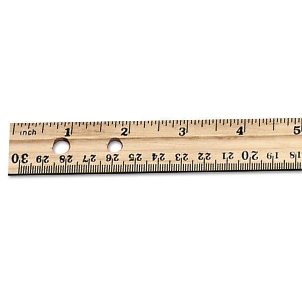 CLI Double Beveled Wood Rulers