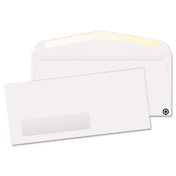 Quality Park Recycled No. 10 Window Envelopes