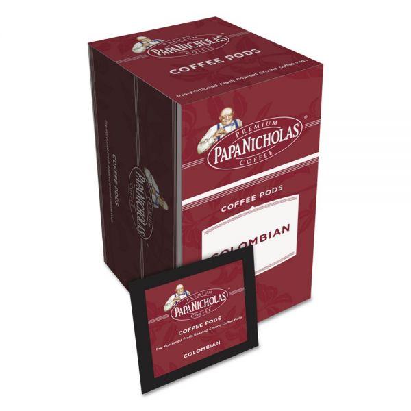 PapaNicholas Coffee Premium Colombian Coffee Pods
