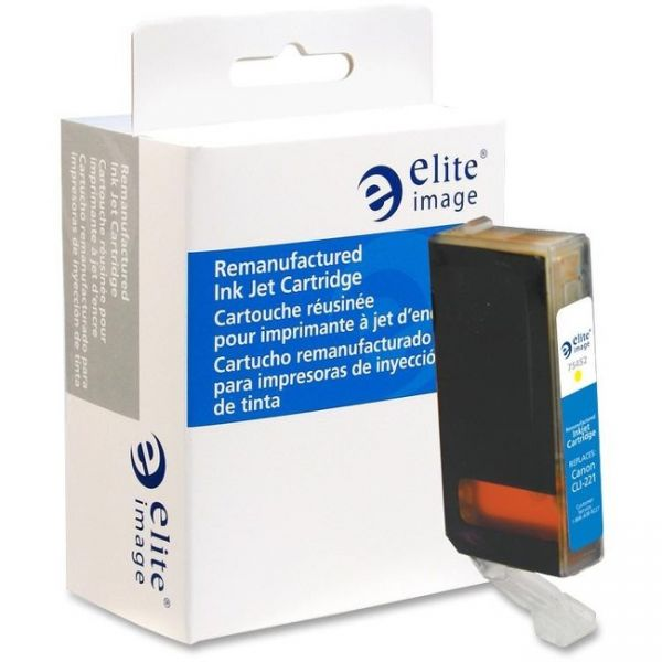 Elite Image Remanufactured Canon CLI-221Y Ink Cartridge