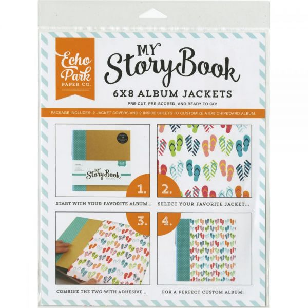 "My Story Book Album Jacket 6""X8"""