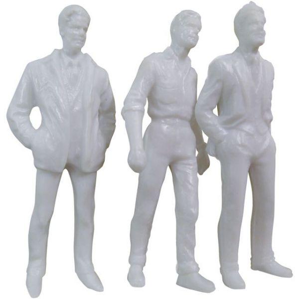 """Male Figures 3"""" 3/Pkg"""