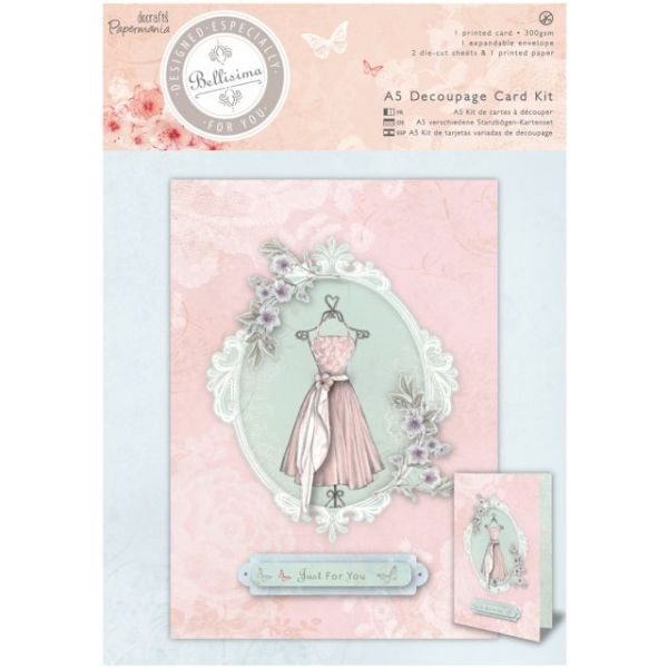 Papermania Bellisima A5 Decoupage Card Kit