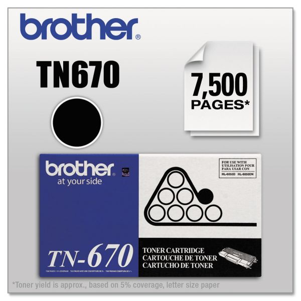 Brother TN-670 Toner Cartridge