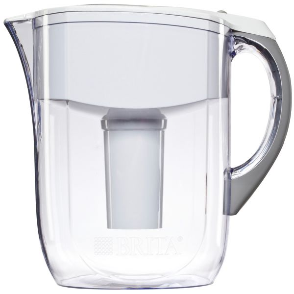 Brita 10-Cup Grand BPA-Free Water Pitcher with 1 Filter
