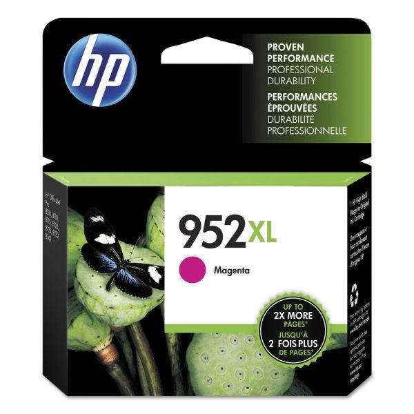 HP 952XL High Yield Magenta Ink Cartridge (L0S64AN)
