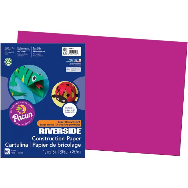 Pacon Groundwood Construction Paper